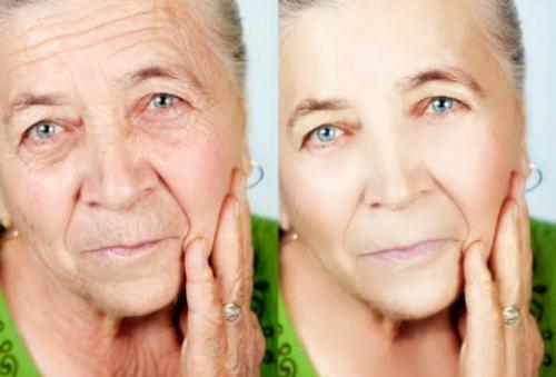 2 phút massage da mặt bằng dầu dừa tránh nếp nhăn