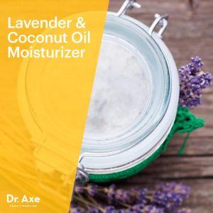 Lavender & Coconut Oil Moisturizer for Dry Skin